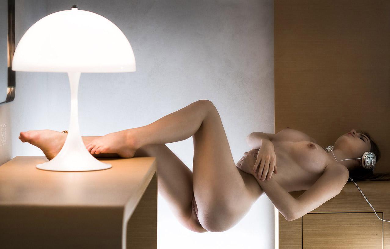 Lounge / Alexandra Smelova nude by Vladimir Nikolaev