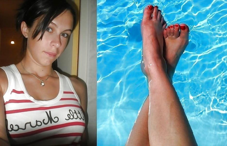 French girls feet worship-5121