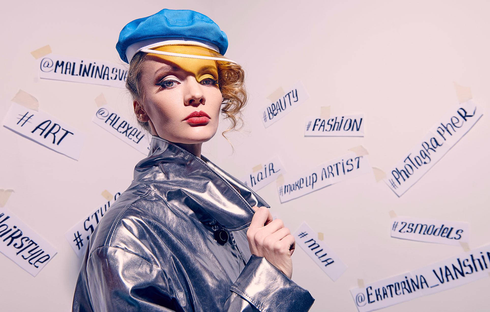 Екатерина Ваньшина и хэштеги в модной фотосессии Алексея Янбаева / фото 04