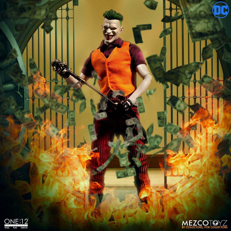 """The Joker -Clown Prince of Crime Edition- One 12"""" (Mezco Toyz) MofsZbag_o"""