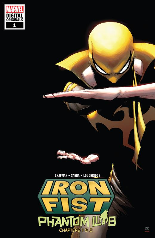 Iron Fist #1-3 (2018) (Digital Original)