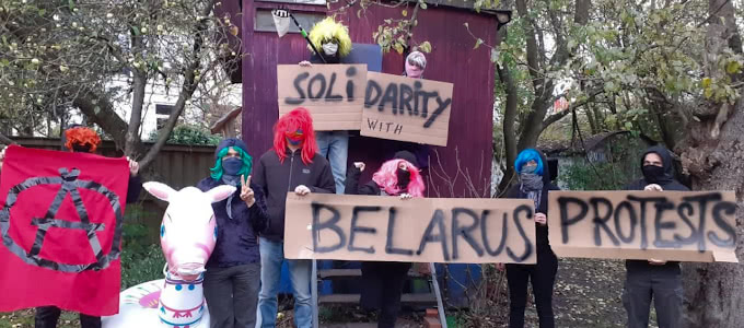 Solidarity with Belarus protests