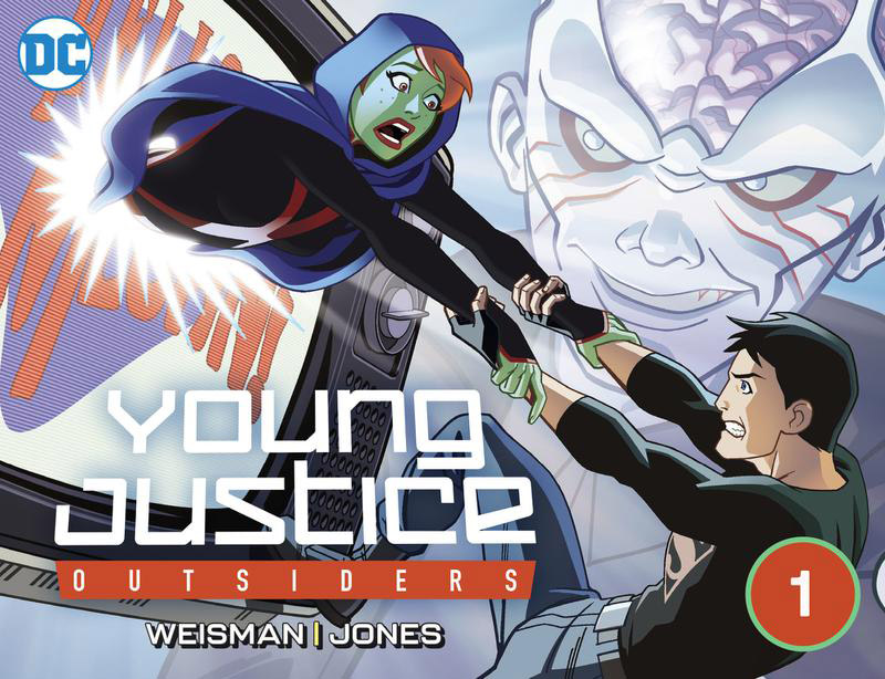 Young Justice Outsiders (DC Universe Exclusive) 01-02 (2019) Complete