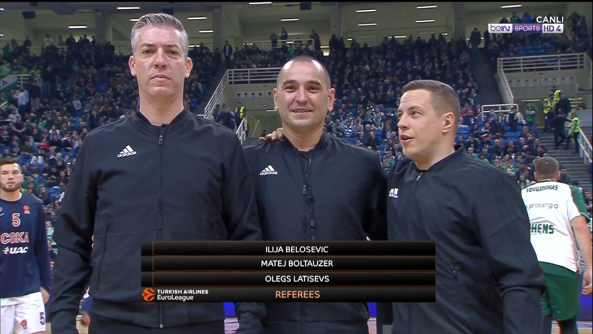 Cska Panathinaikos Hd: HDFTBLL: EuroLeague 18/19
