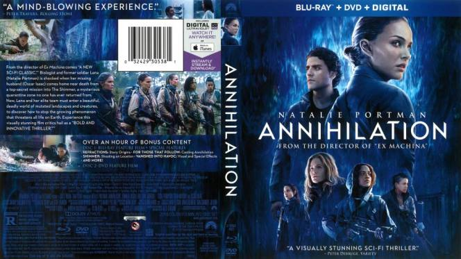 Aniquilacion (2018) BRRip 720p Audio Trial Latino-Castellano-Ingles