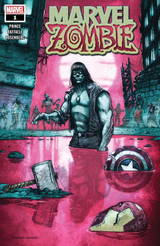 Marvel Zombie 001 (2018)