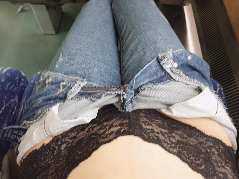 Sexy girl flashing in public-6203