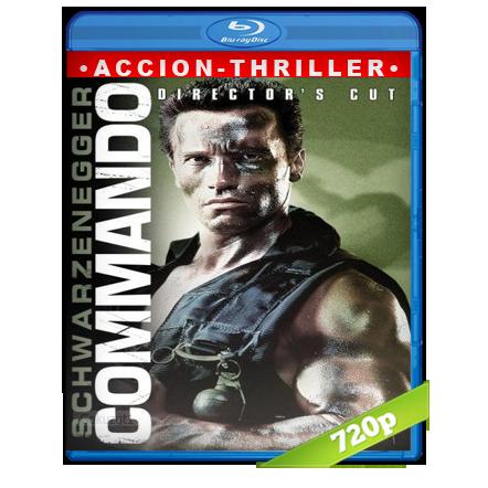 Comando 720p Lat-Cast-Ing[Acción](1985)