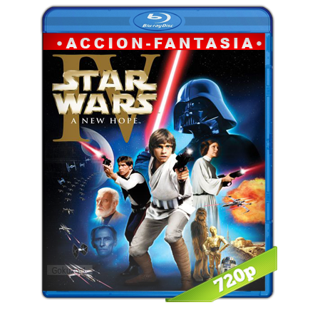 Star Wars Episodio IV Una Nueva Esperanza (1977) BRRip 720p Audio Trial Latino-Castellano-Ingles 5.1