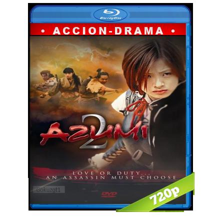 descargar Azumi 2 Princesa Guerrera 720p Cas-Jap (2005) gartis