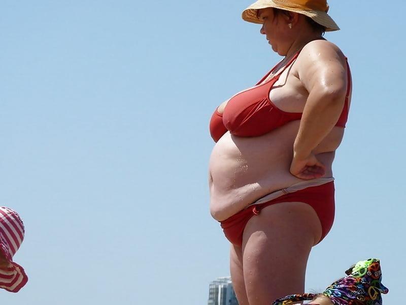 Nude big boobs on beach-7327