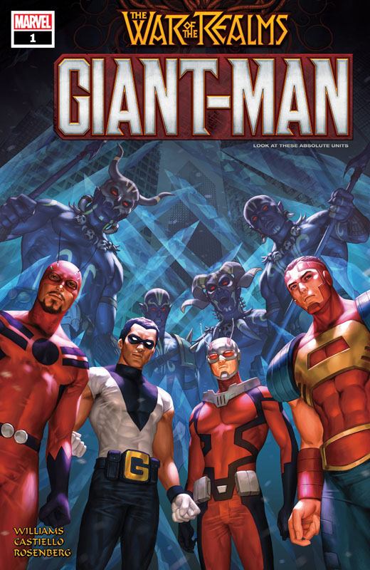 Giant-Man #1-3 (2019) Complete