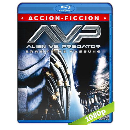 Alien Vs Depredador (2004) BRRip Full 1080p Audio Trial Latino-Castellano-Ingles 5.1