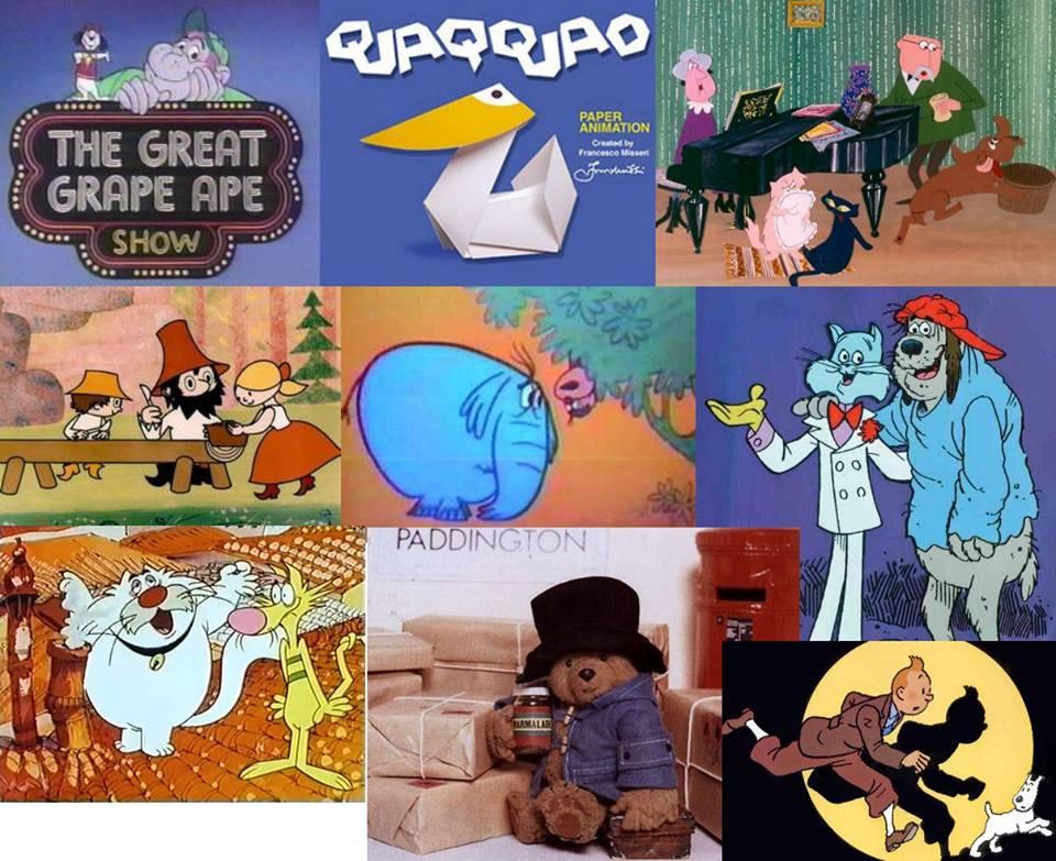 Oggi qui cartoni animati 1a parte anni 60 70 80 e dintorni