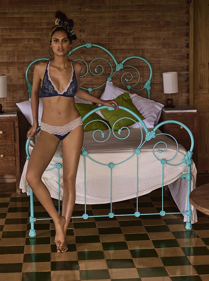 Andres Sarda lingerie spring/summer 2018 by Jonas Bresnan