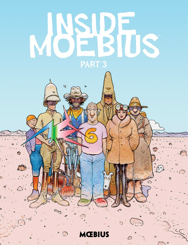 Moebius Library - Inside Moebius Part 01-03 (2018)