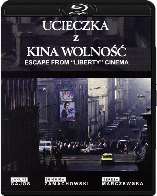 """Ucieczka z kina """"Wolność"""" (1990) PL.720p.BluRay.x264.AC3-DENDA / film polski"""