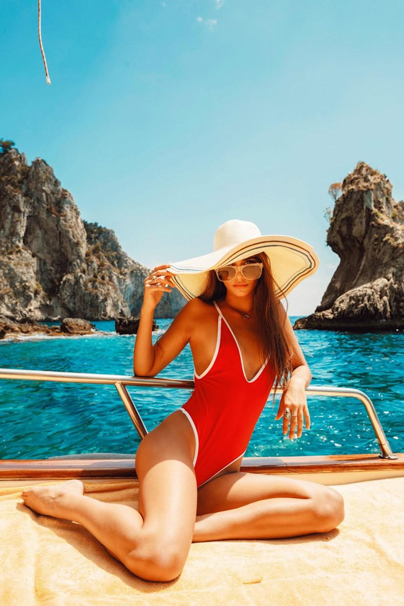 Italian Summer Positano and Capri - Cameron Rorrison, Renee Herbert, Elisha Herbert, Josephine Broome, Rachel Yampolsky by Mat Abad