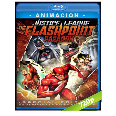 descargar Liga De La Justicia Paradoja Del Tiempo 720p Lat-Ing[Animacion](2013) gratis