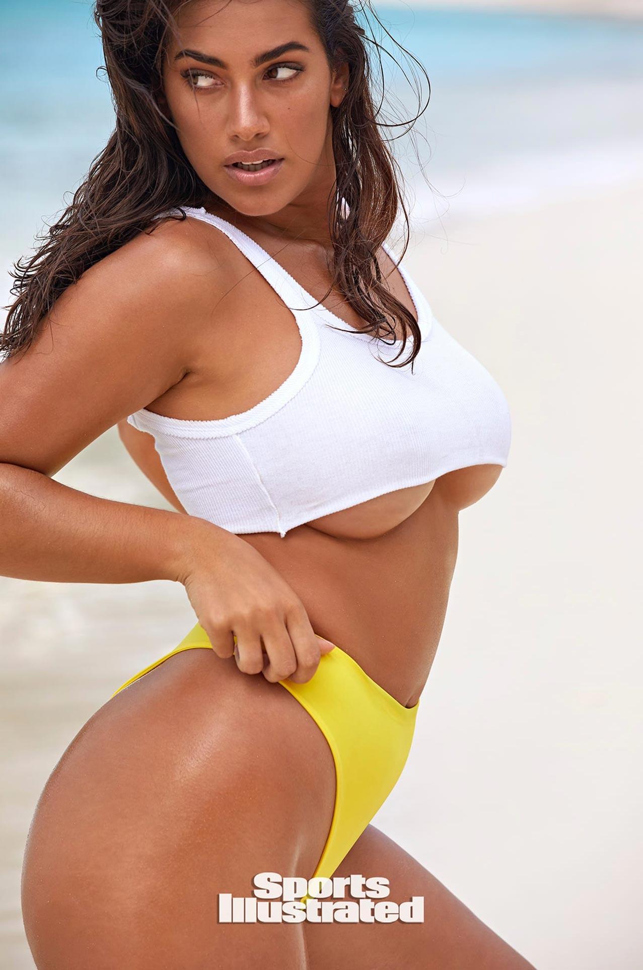 Лорена Дюран в каталоге купальников Sports Illustrated Swimsuit 2020 / фото 10