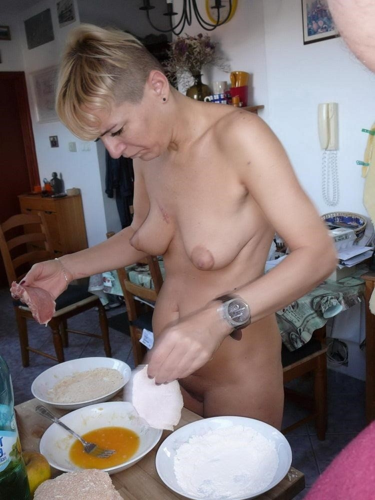 Wife naked in public-6526