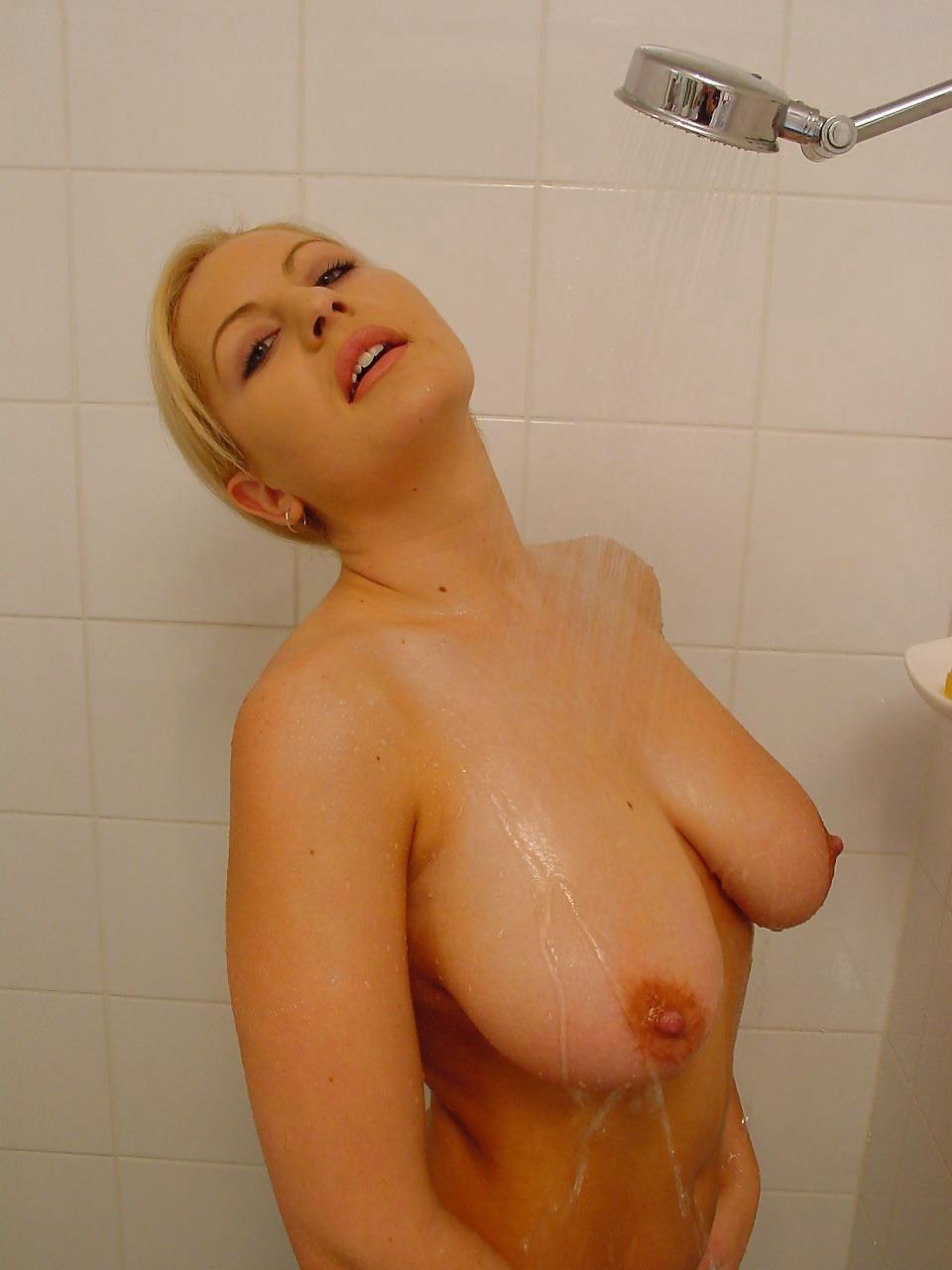 Cute blonde big boobs-4756