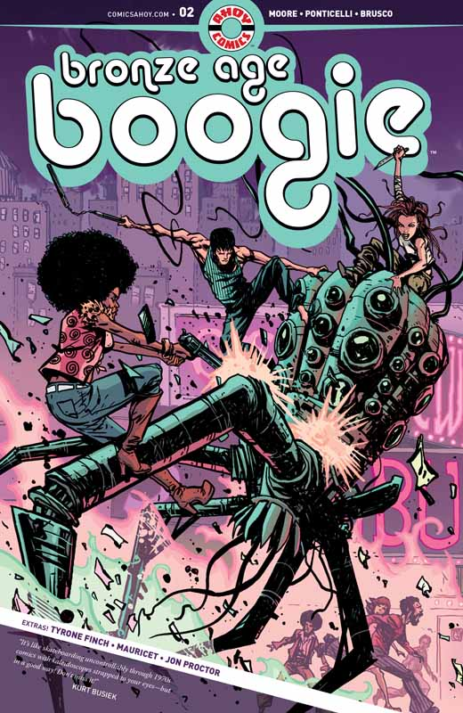 Bronze Age Boogie #1-6 (2019) Complete