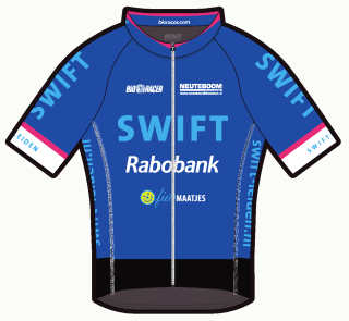 Swift tenue 2017: damesshirt, voorzijde