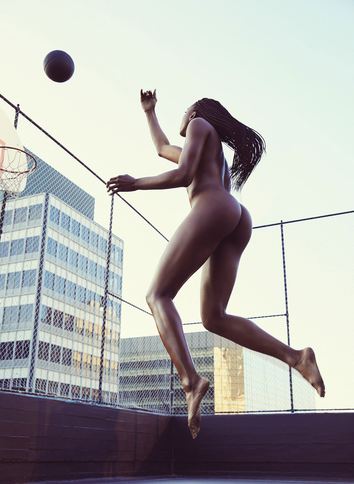 Nneka Ogwumike - ESPN The Body Issue 2017 / photo by Mark Williams and Sara Hirakawa