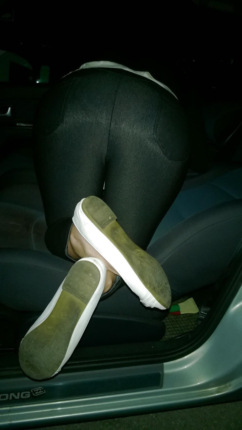 Lesbian foot fetish nylon-3568
