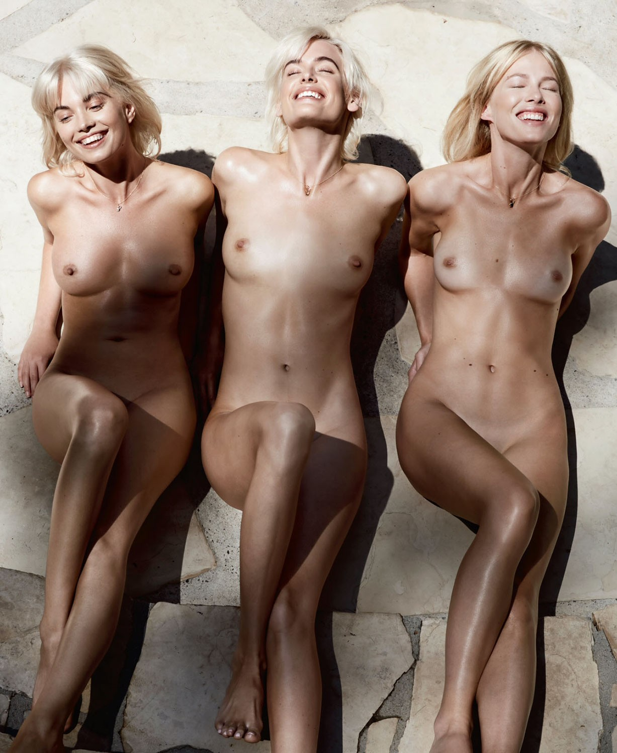 Taylor Bagley, Sydney Roper and Terra Jo Wallace by Jennifer Stenglein - Playboy US november-december 2017