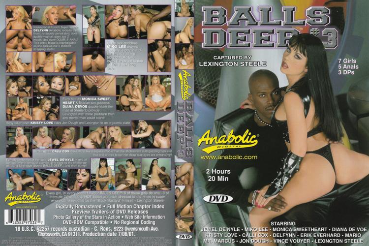 [BDWC] Balls Deep 3 / По самые яйца 3 (Lexington Steele, Anabolic Video) [2001 г., Gonzo, Interracial, Anal, DP, DPP, DAP, A2M, Facial, DVDRemux] (Jewel De'Nyle, Miko Lee, Diana DeVoe, Monica Sweetheart, Kristy Love, Calli Cox, Delfynn Delage, L