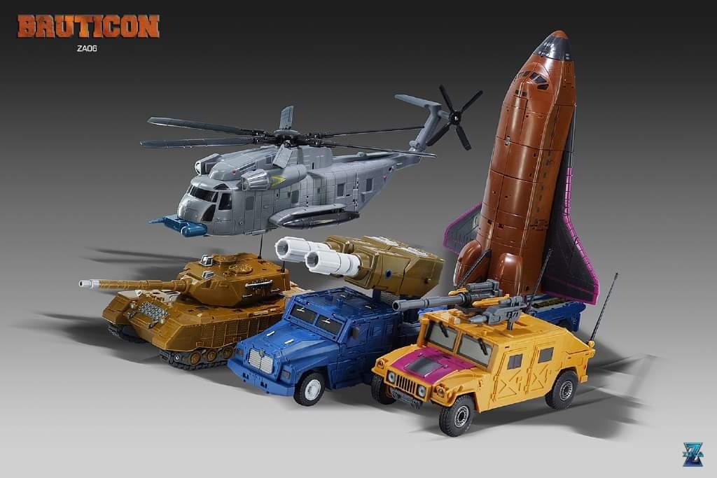 [Zeta Toys] Produit Tiers - Armageddon (ZA-01 à ZA-05) - ZA-06 Bruticon - ZA-07 Bruticon ― aka Bruticus (Studio OX, couleurs G1, métallique) - Page 5 ZA8cHTSc_o