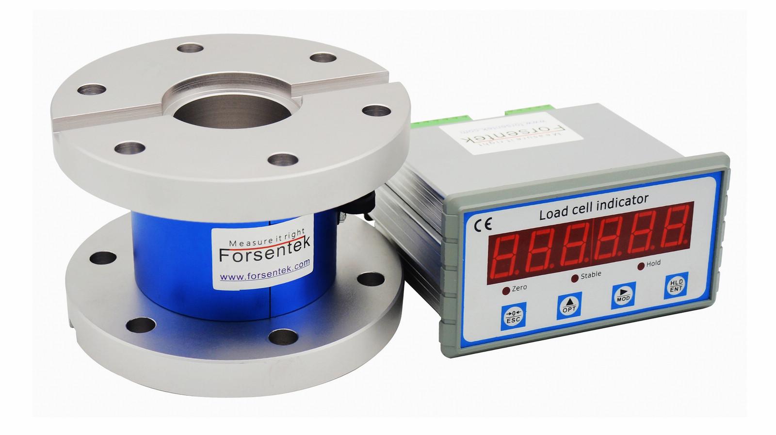 flange type torque meter