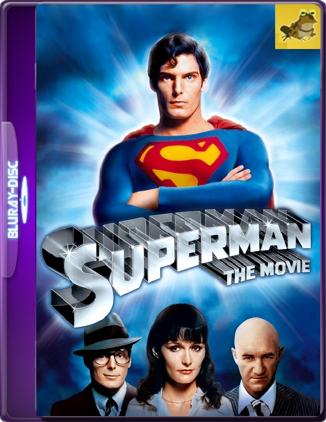 Superman (1978) Brrip 1080p (60 FPS) Latino / Inglés