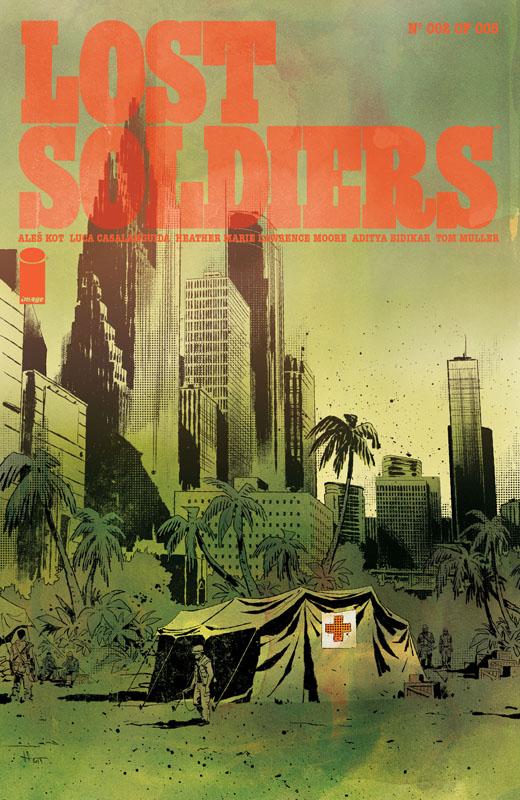 Lost Soldiers #1-5 (2020) Complete
