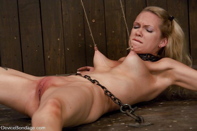 Breast bondage and torture-2501