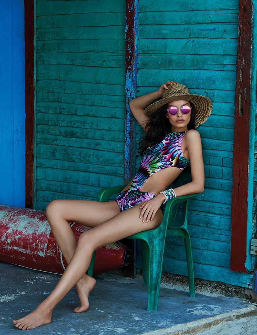 Лума Гроте в купальниках и пляжной одежде модного бренда Cia Maritima / фото 12