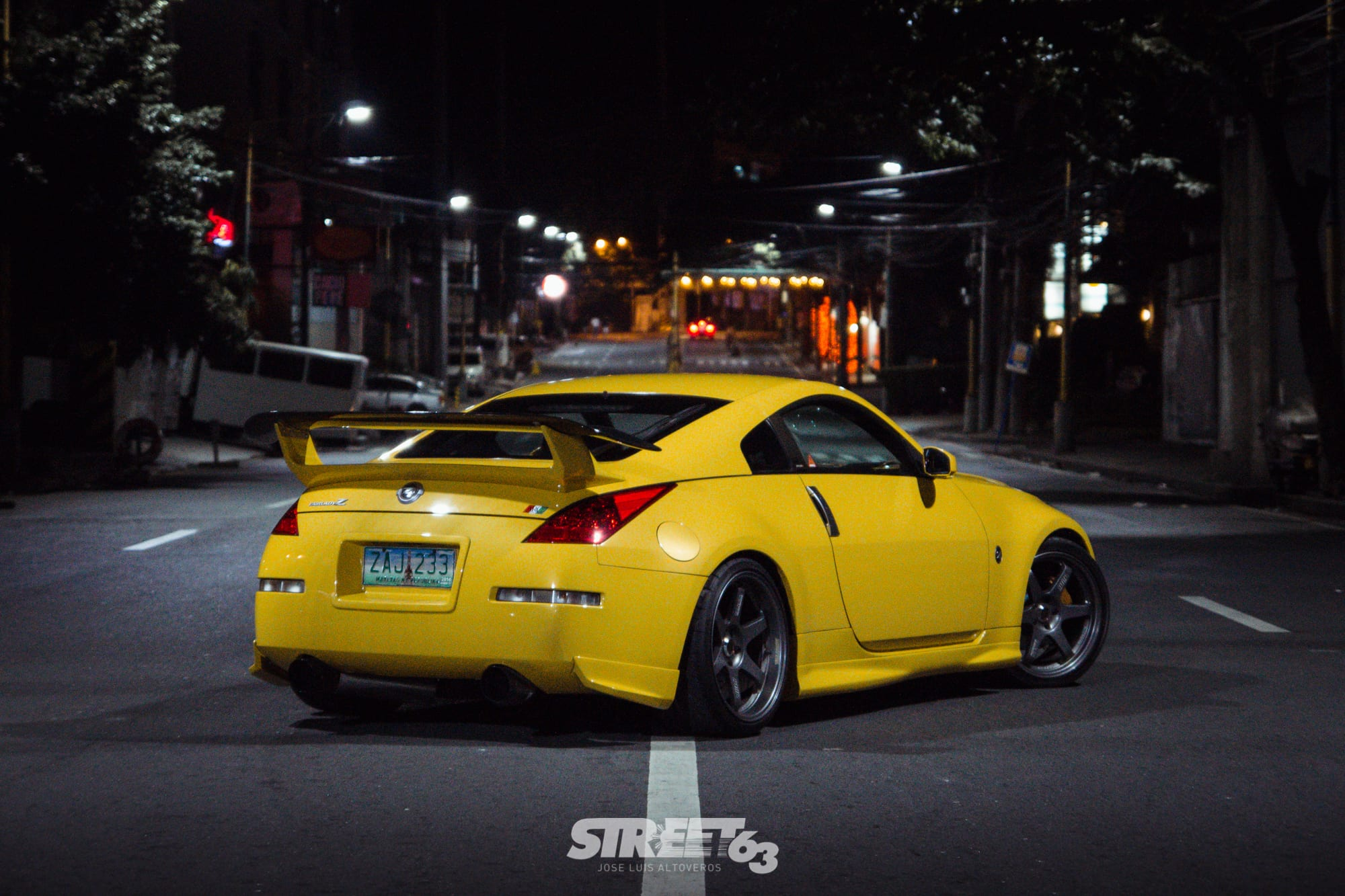 **Turning Sports to Touring:** Patrick Ng's 350Z