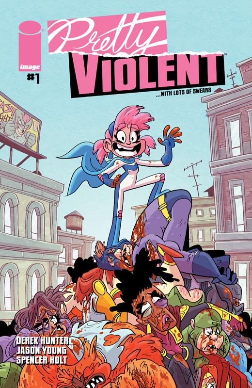 Pretty Violent #1-4 (2019)