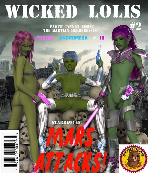 [Squidro] Mars Attacks (comics, eng)