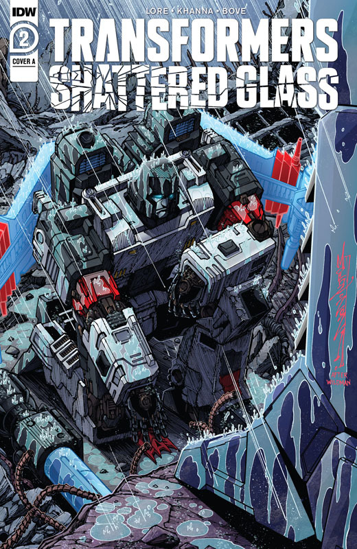 Transformers - Shattered Glass #1-3 (2021)