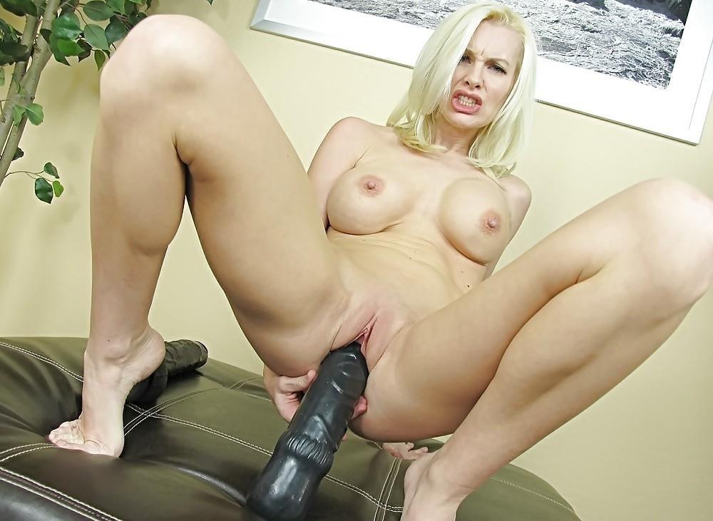 Women using huge dildos-9204