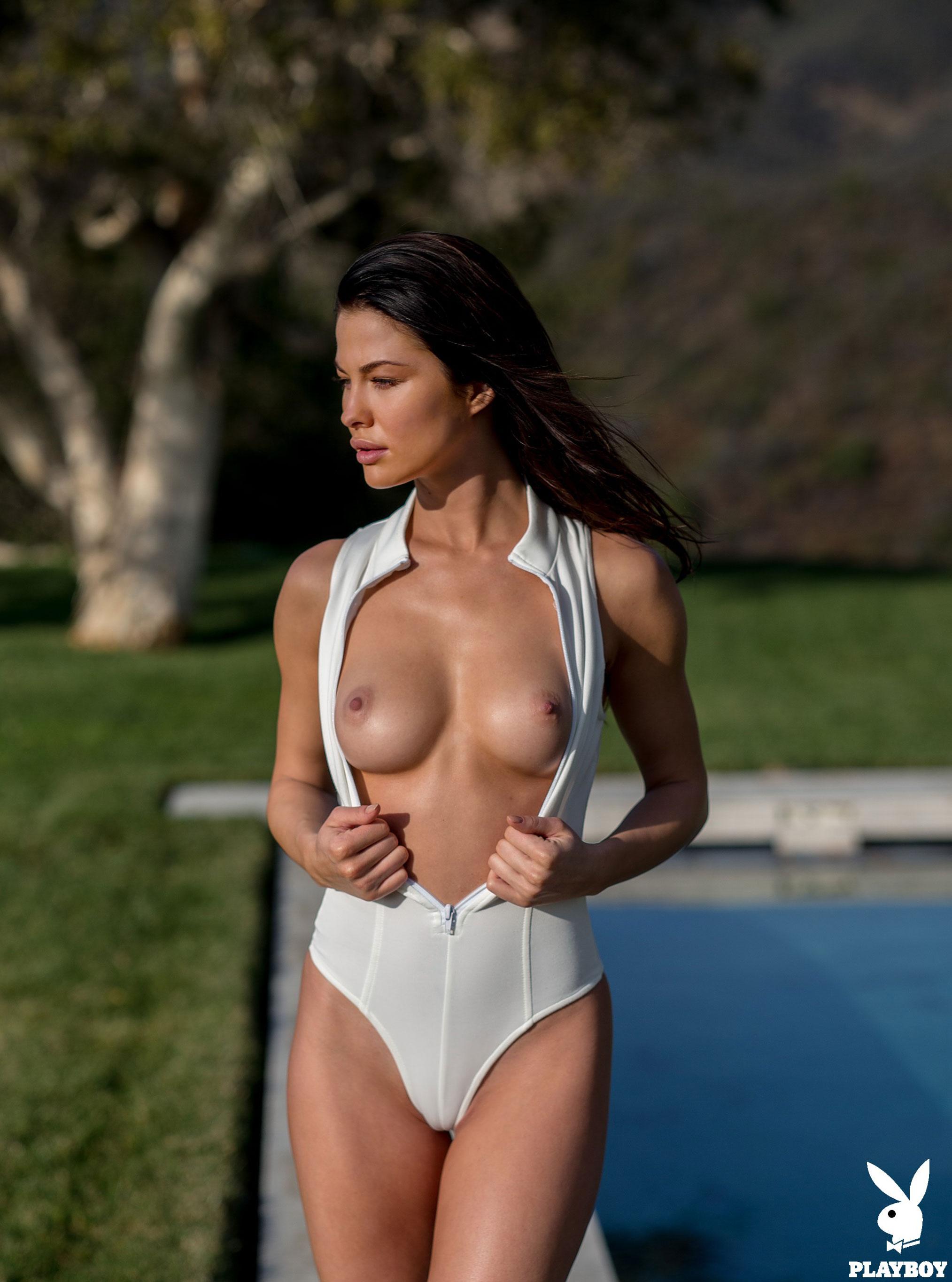 Девушка месяца Jenny Watwood / Playboy США, март 2018 / фото 06