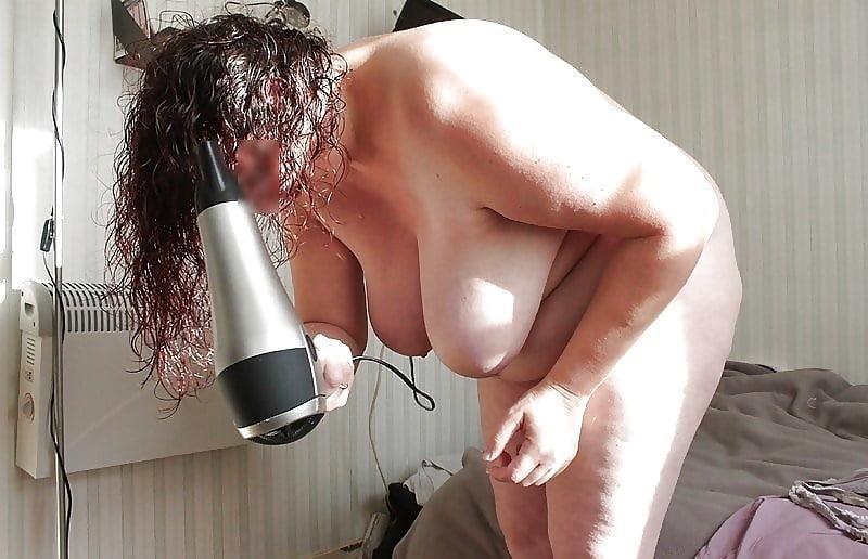 Chubby naked granny-6730