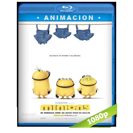 Los Minions 1080p Lat-Cast-Ing 5.1 (2015)