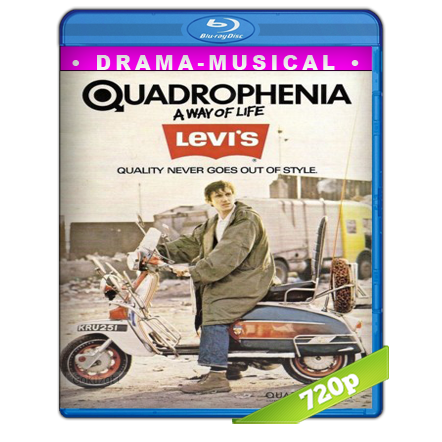 Quadrophenia HD720p Audio Trial Latino-Castellano-Ingles 5.1 1979