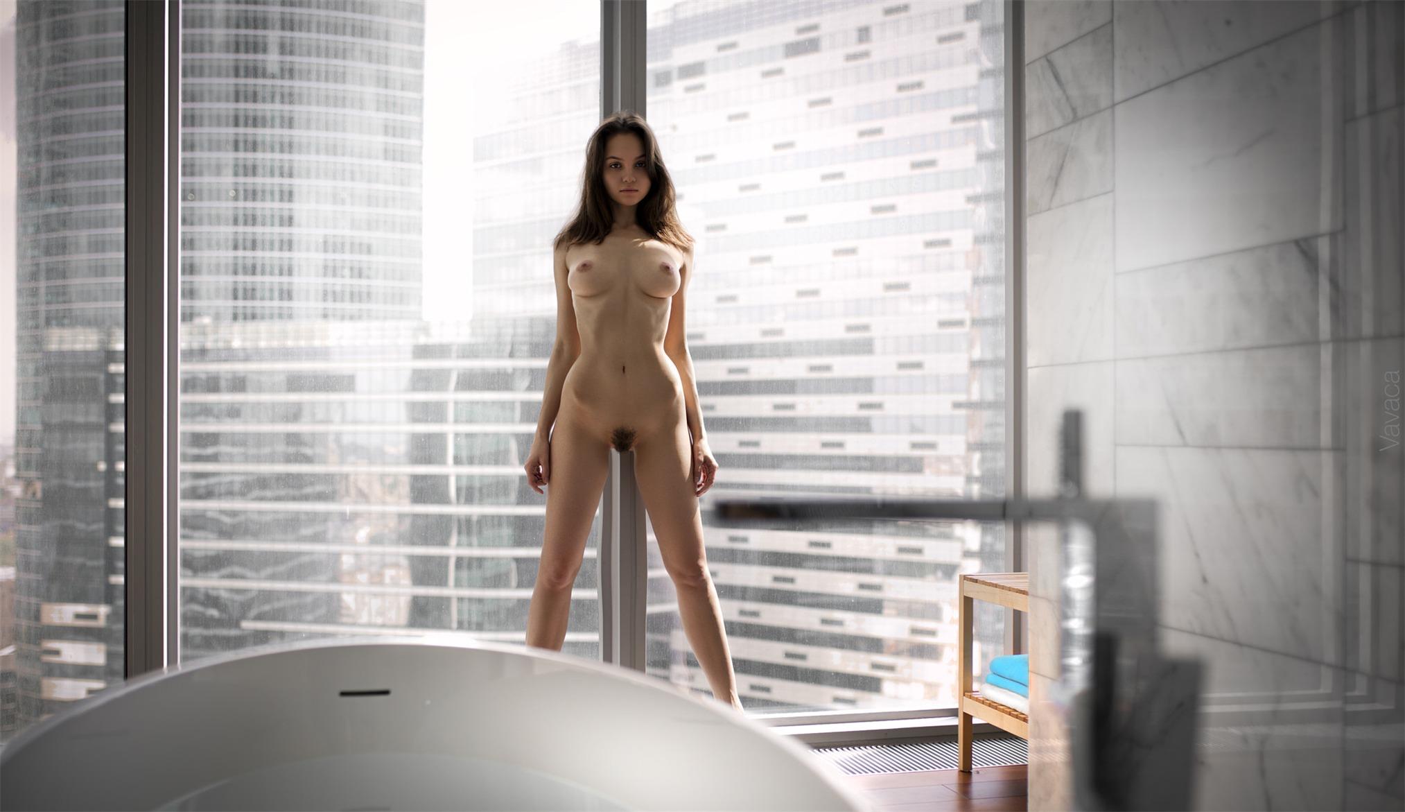 Голая красавица Мария Демина / Maria Demina nude by Vladimir Nikolaev