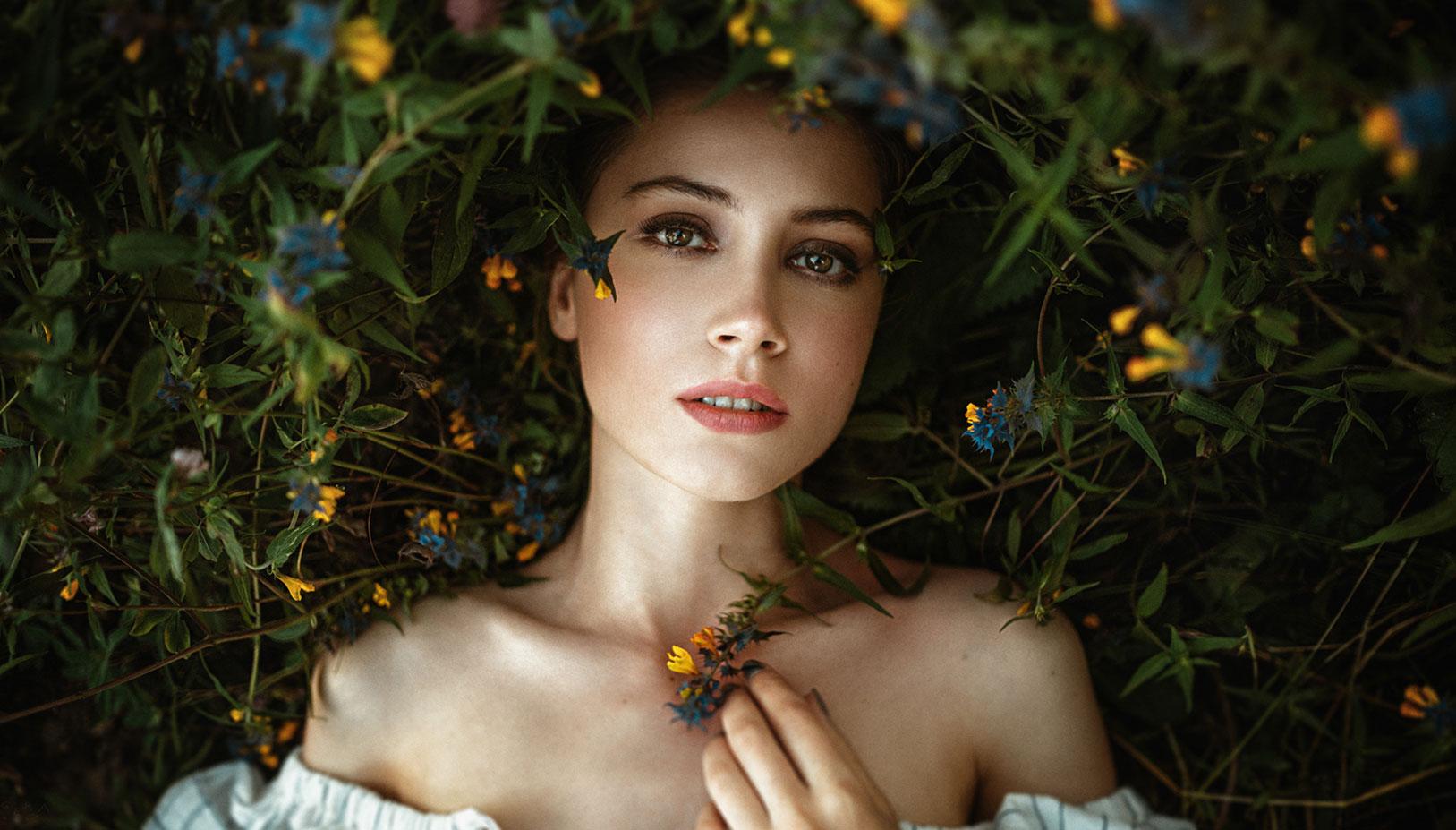 Ксения Кокорева на природе / фото 09