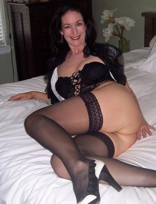 Nude lingerie mature-1191